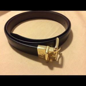 Cole haan reversible belt size Large